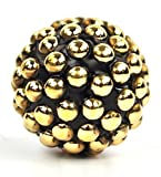 #4: gold dotted metal Spherical cabinet cupboard Knob pulls Handle 1.5