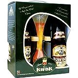 Coffret Bière Kwak 4 bouteilles de 33cl + 1 verre kwak Bière Belge de la Brasserie Boostel.