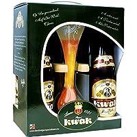 KWAK COFFRET 4*0,33L + 1VERRE| ABV : 8.4 % | Volume : 132 cL