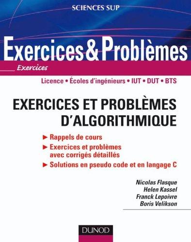 Exercices et problèmes d'algorithmique
