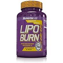 Nutrytec Lipo-Burn Platinum - 120 Cápsulas