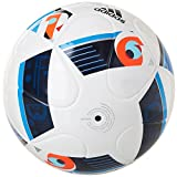 adidas Herren Ball EURO 2016 Sala Training, White/Bright Blue/Night Indigo, FUTS, AC5446 - 2