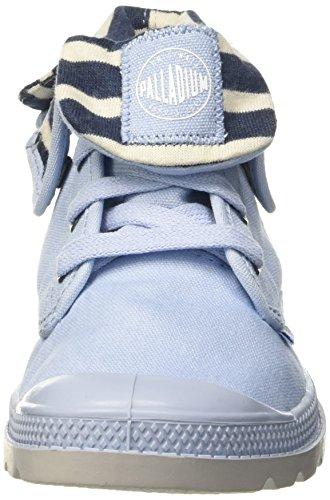 Palladium Bgy Z Lp K, Baskets Hautes Mixte Enfant Bleu (C26 Skyway/Dk Slate/Vapor)