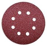 100 pezzo Velcro dischi abrasivi rotondo Ø 125 mm diverse grane a scelta - ideale per vari dispositivi, Korn 60