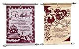 Birthday & Love Scroll Card Combo