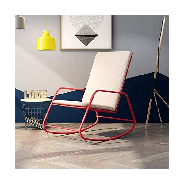 LYATW Leisure Rocking Chair, Leisure Chair, Leisure Nap Elderly Recliner Adult Chair Indoor and Outdoor LYATW After drying, batching, manual grinding and other processes, the lines are exquisite and delicate, the texture is firm and stable, and the compressive strength, static bending strength is good, and durability is durable. Anti-corrosion and light-proof, wear-resistant and dirt-resistant, easy to clean, easy to handle, breathable and skin-friendly Comfortable armrests, fit the human arm line, hand-woven naturally, and the rattan is tight and orderly. 1