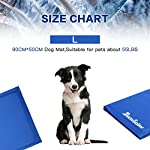 Lauva Dog Cool Mat, Dogs Self Cooling Non-Toxic Gel Mat Pads Mattress Pet Cat Cool Beds Extra Large for Dog Crates… 16