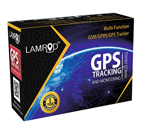 LAMROD Prime Car/Bike Google Link LM05 Compact GPS Tracker with Mobile APP Subscription