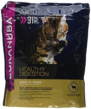 EUKANUBA Digestion saine - Croquettes pour chat adulte - Agneau - 0,4kg