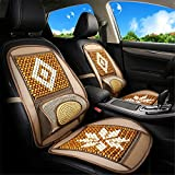 Legno sede tallone Auto Cuscino Chair Art Ammortizzatore di massaggio Ammortizzatore di sede di Car Styling Accessori Fit Automobile Camion Combi SUV e Home Office,Beige