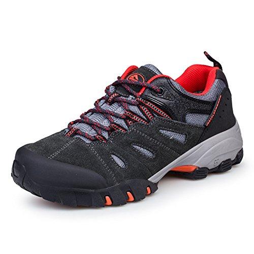 Chaussures de randonnée adulte unisexe Sportif Derbies chaussures d'hiver Orange