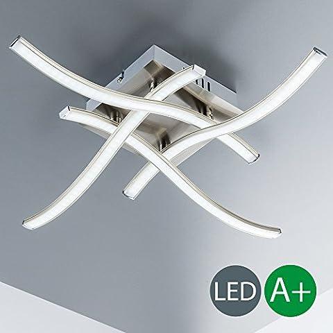 Plafonnier Led - Plafonnier LED avec LED PCB 4x 3,4W