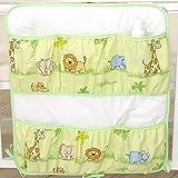 Betttasche 60x70cm D44 Utensilo Bett Tasche Utensilientasche Babybett Gitterbett Bettutensilo