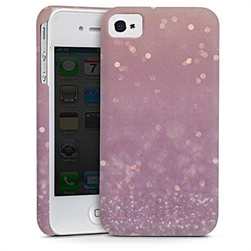 Apple iPhone 5 Housse Étui Silicone Coque Protection Paillettes Brillance Bling-bling Cas Premium mat