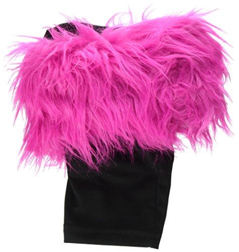 DREI Cheers für Mädchen Kunstfell Stiefel Topper, Pink Mink -