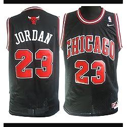 Jersey Michael Jordan 23 couleur NOIRE Size M