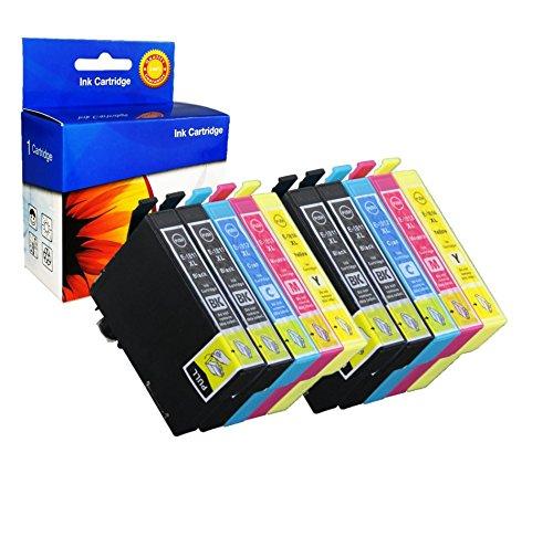 Preisvergleich Produktbild 10x Nextpage Tinten Patronen T1811 T1812 T1813 T1814 kompatibel zu Epson Expression Home XP-30 102 202 205 302 305 402 405 405WH 212 215 312 315 412 415