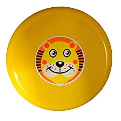 Chotu Yellow Cartoon Frisbee set