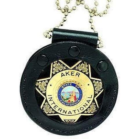 AKER Piel Aker 599–Cuello Star Badge–Soporte a599-tp