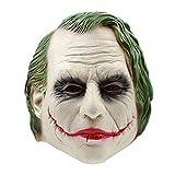 AKCHIUY Horror Clown Mit Haaren Maske - Perfekt Für Fasching, Karneval Halloween - Kostüm Für Erwachsene Latex,Clown-OneSize