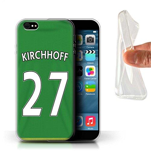 Offiziell Sunderland AFC Hülle / Gel TPU Case für Apple iPhone 6+/Plus 5.5 / Mannone Muster / SAFC Trikot Away 15/16 Kollektion Kirchhoff