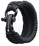 The Friendly Swede Braccialetto di Sopravvivenza Trilobite in Paracord Extra...
