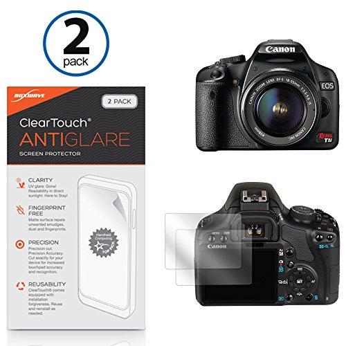 canon-eos-digital-rebel-t1i-film-protecteur-decran-boxwaver-cleartouch-anti-reflets-2-peau-film-mat-
