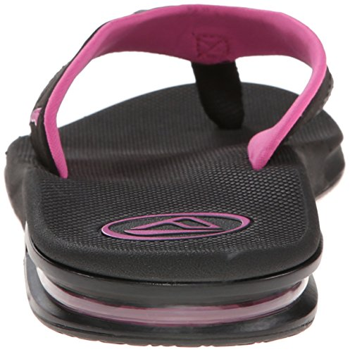 Reef Fanning, Tongs Femme Black (Black/Grey/Berry)