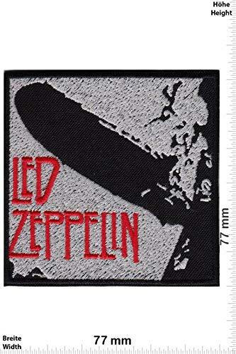 LipaLipaNa Led Zeppelin - First Album -Rockband Aufnäher Besticktes Patch zum Aufbügeln Applique Souvenir Zubehör -