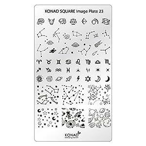 Original KONAD Square 22 Stamping Schablone