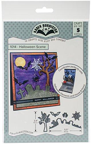 ston Dies-Halloween Szene, grau ()