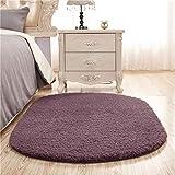 CLLCR Haushalt Teppich-Teppich-Blended Oval Schöne Teppich Wohnzimmer Couchtisch Schlafzimmer Nachttisch Teppich - Anti Rutschform Luxus Teppich,80 * 200 cm,3