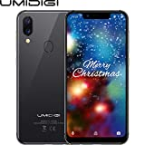 UMIDIGI A3 Pro(2018) Dual SIM Android 8.1 Smartphone ohne Vertrag günstig 5.7 Zoll(14.47cm) 19:9 Display, Benachrichtigung LED, Global LTE Bands, Triple Slot, 32GB+3GB, Triple Kamera(12MP+5M+8MP)-Grau