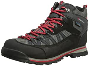 Karrimor New Mens/Gents Black Spike Waterproof Hiking/Walking Boots. - Black/Red - UK Size 13