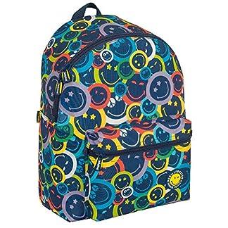 Mochila Teen Escolar Smiley Colors