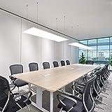 Jago LED Decken-Panel 120x30 cm Ultraslim 48W mit 4500K Farbtemperatur und Neutralweiß Leuchte (Energieklasse A++)