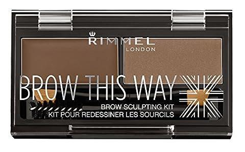 Rimmel Eyebrow Kit - Mid Brown