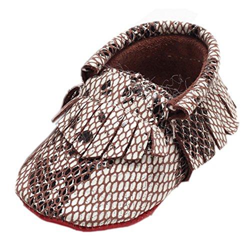 Bissextos Meninos Sapatos Impressão Sapo Cobra Bebê G Mocassins Botas Walker vr4wvTgAq