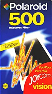 Original Polaroid Joycam Vision 500instand Film 10photos de couleurs 11,2x 6,4