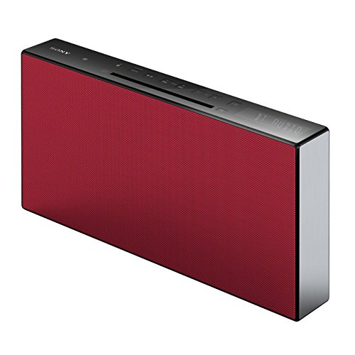 Sony CMT-X3CD Micro-HiFi System (CD, USB, Bluetooth, 20 Watt) rot Kleine Bluetooth
