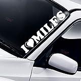 I Love Milfs Frontscheibe Windschutzscheibe Heckscheibe Aufkleber Lustig Drift JDM Fun Tuning Auto Frontscheibenaufkleber
