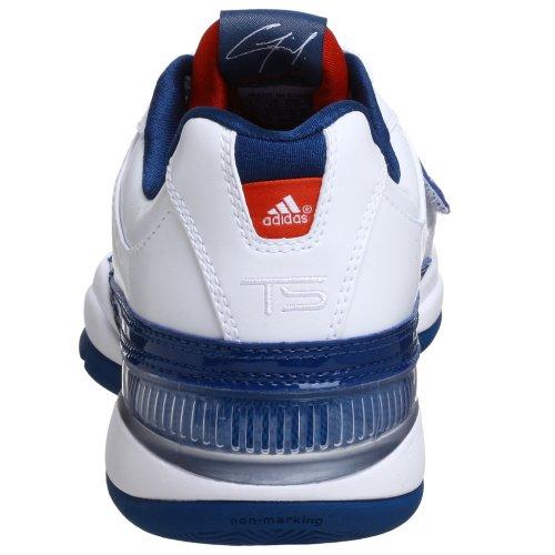 Adidas Ts Lightswitch Gil-Basketball-Schuh, weiÃ? / blau / orange, 8 M White/Blue/Orange