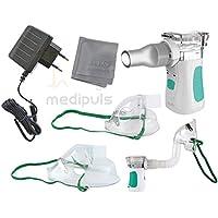 Premium Ultraschall-Inhalationsgerät Kompakt Mini mit moderner Mikromembran-Technologie und großer Vernebelungsleistung... preisvergleich bei billige-tabletten.eu