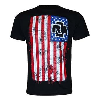 Rammstein - T-shirt -  Homme -  Noir - Noir - Large
