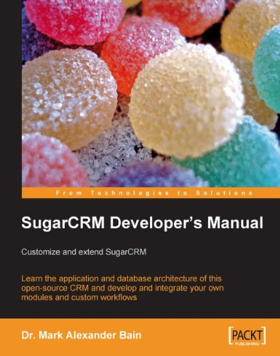 Overview of the sugarcrm application architecture sugarcrm.