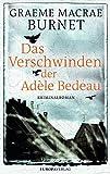 Image of Das Verschwinden der Adèle Bedeau