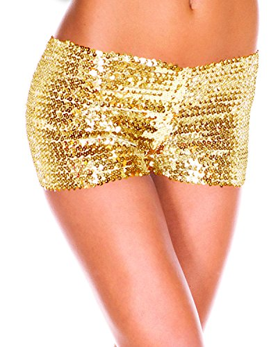 shujing Damen Short One size Golden