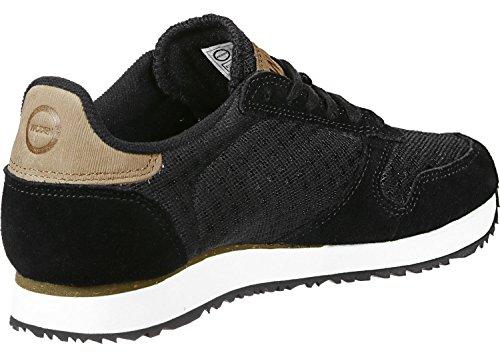 Woden Ydun Suede Mesh, Sneaker Donna Nero