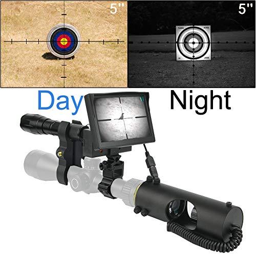 5\'\'Digital Nachtsichtgerät für die Gewehrjagd mit HD-Kamera und tragbarem Bildschirm