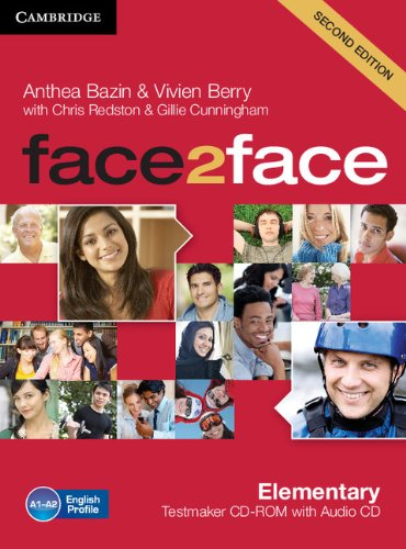 face2face Elementary Testmaker CD-ROM and Audio CD Second Edition
